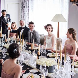 平日限定【ホテル最上階で家族挙式】スイートルームで最高のおもてなし