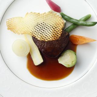 【試食フェア・来館特典】シェフ特製料理コースよりメインのワンプレート試食