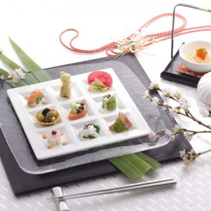 お箸で食べられるフレンチも人気。|名古屋観光ホテルの写真(351374)