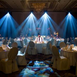 印象的な披露宴の演出をサウンド&ライティングプランナーがご提案。 名古屋観光ホテルの写真(338402)