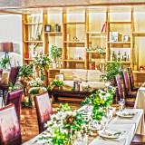 ガーデンレストラン「はな花」はぬくもりある空間の披露宴会場