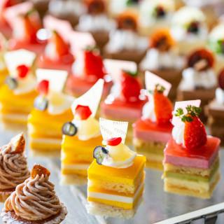 ホテルメイドのデザートを無料試食体験