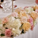 ピンク・白の王道カラーにオレンジを入れて かわいらしい雰囲気です