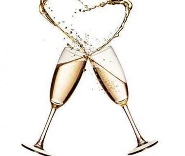 乾杯用シャンパン(イメージ)
