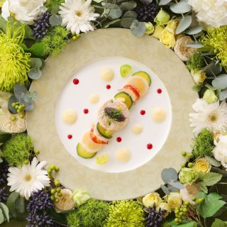 ◆2018年4・5・6月にご結婚式のカップルさまへ◆お料理2,000円×ご人数分グレードアップ!