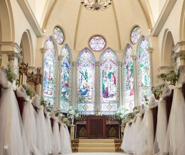 英国生まれの本格大聖堂セント・デイヴィッド・チャペル