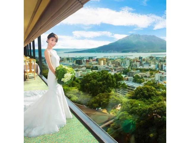 ■標高108mに位置し桜島を一望できるホテル■