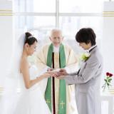 正式な資格を持つ専属牧師が行う本格挙式