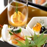 器にも和のテイストを取り入れた横浜迎賓館ならではの逸品。フェアの試食会で味わえる!