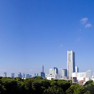 みなとみらいを望む高田に佇む横浜迎賓館|横浜迎賓館の写真(246797)