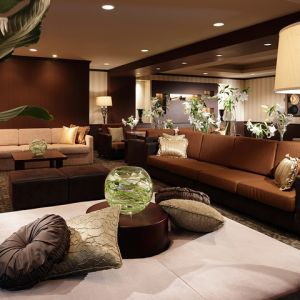 <ロビーラウンジ>特別な1日を最初から最後まで、ゆったりお過ごしいただくための施設。|横浜迎賓館の写真(246798)