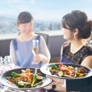 【フェア参加特典】人気レストランのお食事付きフェア