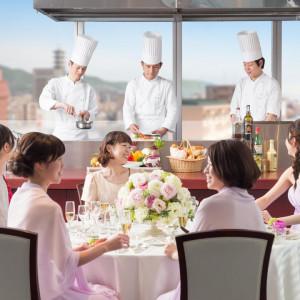 【景色×美食のおもてなし】最上階の眺望×豪華試食の贅沢フェア