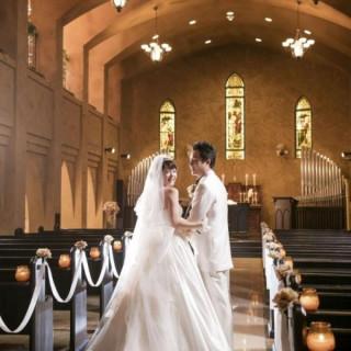 花嫁が輝く大聖堂見学×国産牛が美味しいワンプレート試食付きフェア