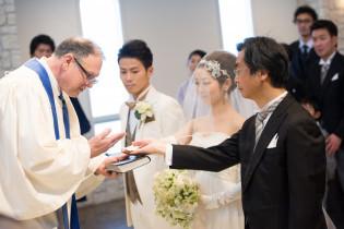 挙式~確認の儀~|アニヴェルセル 東京ベイの写真(1039844)