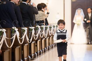 挙式~新婦入場~|アニヴェルセル 東京ベイの写真(2323482)