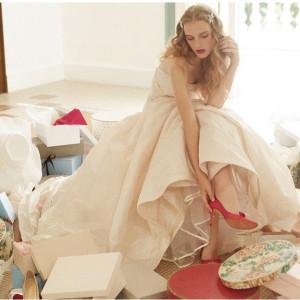 【シンデレラのガラスの靴プレゼント】試食×憧れ教会の模擬挙式