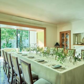 【10名69万】家族で挙式&会食相談◆緑を眺める専用邸宅見学