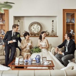 【家族で挙式&会食】◆少人数で貸切可◆ファミリーウェディング