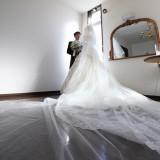 教会の花嫁控室にて