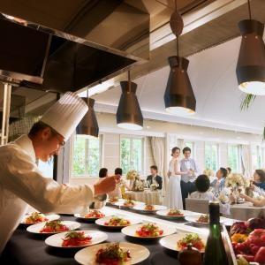 【お料理重視の方】ゲスト大満足の結婚式料理試食×30万円特典