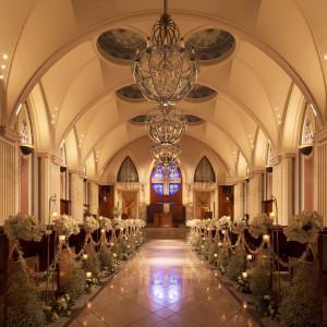 【無料フルコース試食付き】感動の花嫁体験!大聖堂挙式&大階段演出♪