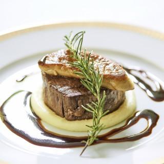【来館特典】牛フィレ肉&フォアグラのロッシーニを無料試食!