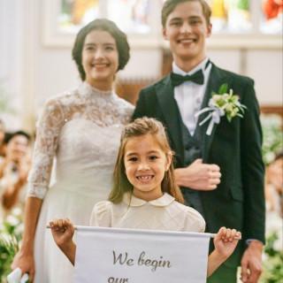 【お子様との結婚式をご希望のお二人へ】W御披露目 特典付