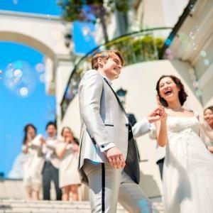 プレ花嫁に大人気♪ドレス試着×階段入場体験♪無料コース試食付