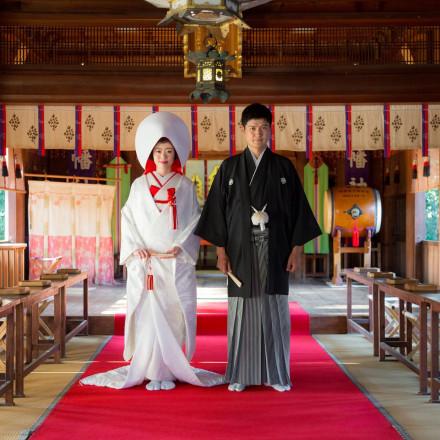 知多市指定文化財尾張八幡神社 八幡の森迎賓館