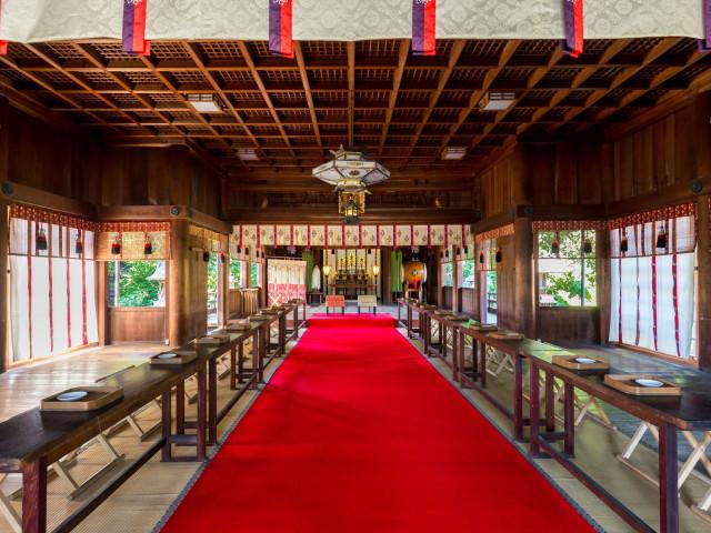 《知多市指定文化財》尾張八幡神社・御本殿見学