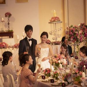 天井高5,5mのバンケットでは丁寧なおもてなしとホテルらしい空間で親もゲストも満足の結婚式が叶う ホテルグランドプラザ浦島の写真(4377185)