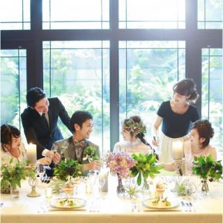 《少人数Wedding》優雅な空間で叶える結婚式