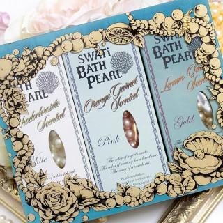 【来館特典】パールをモチーフにしたSWATiオリジナル入浴剤バスパールプレゼント♪