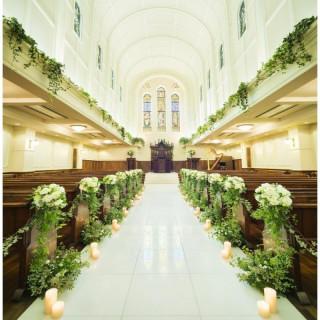 \先輩花嫁絶賛/アンティークが彩る厳粛の大聖堂見学フェア