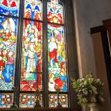 1800年代のアンティークステンドグラス この時代ならではの色合いは美術品としての価値も高い