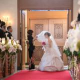 #チャペル#花嫁#入場#バージンロード#聖アルシャンジェ教会