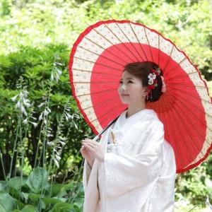 朱傘を持ってのロケーション撮影も人気!! Royal Garden Palace 八王子日本閣の写真(1197629)