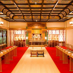縁結びの神、出雲大社の分社である独立型『湖上神殿』 Royal Garden Palace 八王子日本閣の写真(221495)