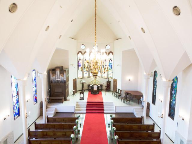 礼拝堂見学