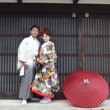 八尾には日本家屋が並び和装での前撮り撮影は情緒溢れステキな写真を残す事ができます!