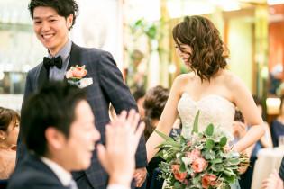 パーティー~ご入場~|赤坂ル・アンジェ教会の写真(3085303)
