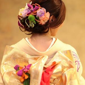 カラフルな小物やお花を生かして和モダンな雰囲気に。 赤坂ル・アンジェ教会の写真(410531)