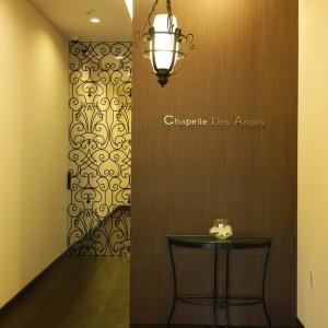 スロープ付のエレベーターホールでご年配のゲストも安心。|赤坂ル・アンジェ教会の写真(1982034)