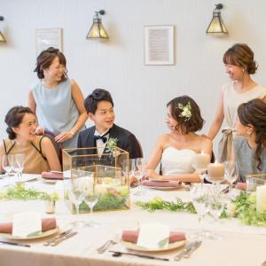 ゲストと一緒に食事するカジュアルなスタイルが人気☆|赤坂ル・アンジェ教会の写真(2176398)