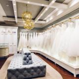 館内にあるドレスショップは世界中から取り寄せ、厳選されたドレスを揃える