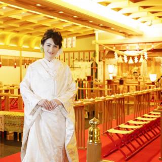 【和婚&和コーデ充実】神殿含む3挙式&6会場見学・和会席試食
