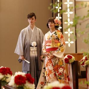 【オークラのWA婚】和装の試着×館内神殿ツアー×安心見積相談