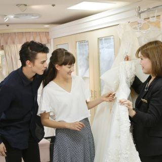 【憧れのドレスショップで!】「桂由美」ドレス試着付き相談会