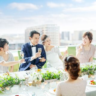【少人数・家族婚♪】最上階のスカイバンケットでアットホームW